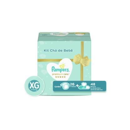 Imagem de Fralda infantil pampers premium care unit