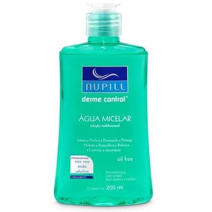 Imagem de Água micelar facial anti-acne derme control 200ml nupill