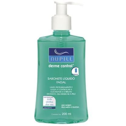 Imagem de Sabonete líquido facial anti-acne derme control 200ml nupill