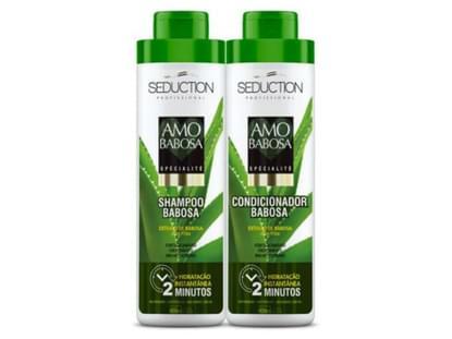 Imagem de Kit shampoo + condicionador eico amo babosa 800ml