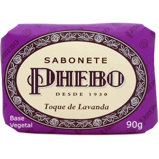 Imagem de Sabonete em barra glicerinado phebo 90g toque de lavanda