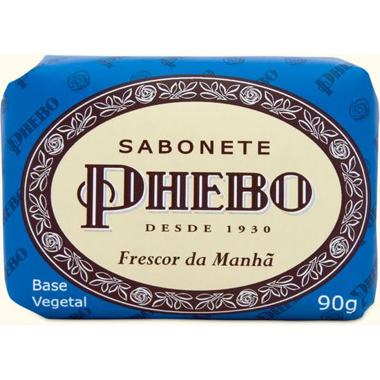 Imagem de Sabonete em barra glicerinado phebo 90g frescor do amanhã