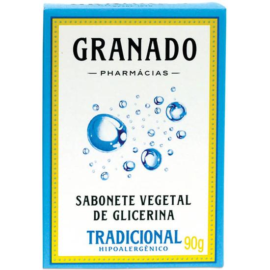 Imagem de Sabonete em barra glicerinado granado 90g glicerina tradicional