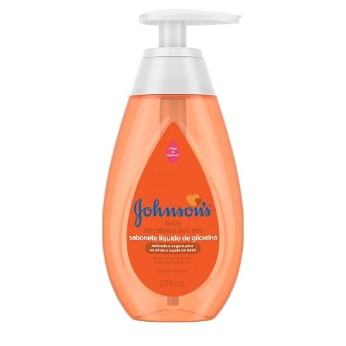 Imagem de Sabonete líquido infantil johnson johnson 200ml glicerina