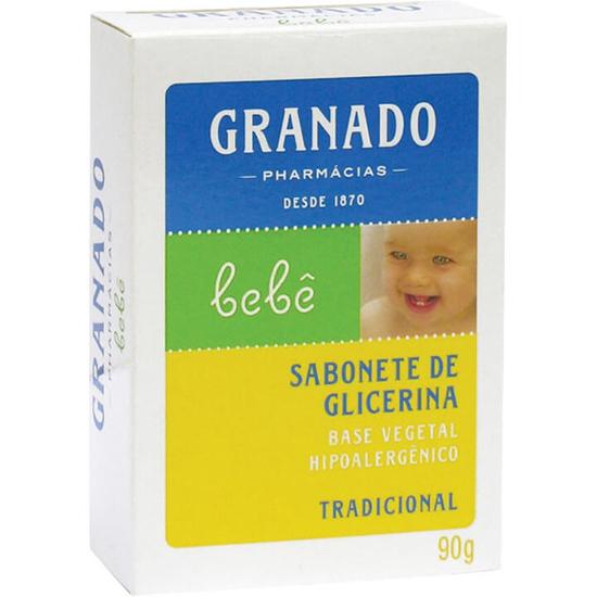 Imagem de Sabonete em barra infantil granado 90g tradicional