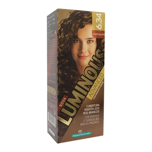Imagem de Tintura permanente luminous 6.34 chocolate