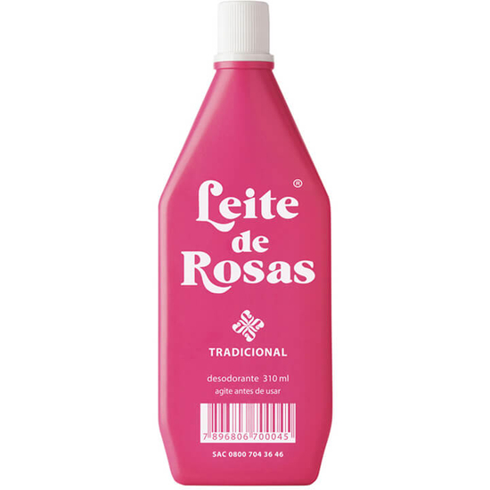 Imagem de Leite corporal limpeza leite de rosas 310ml tradicional