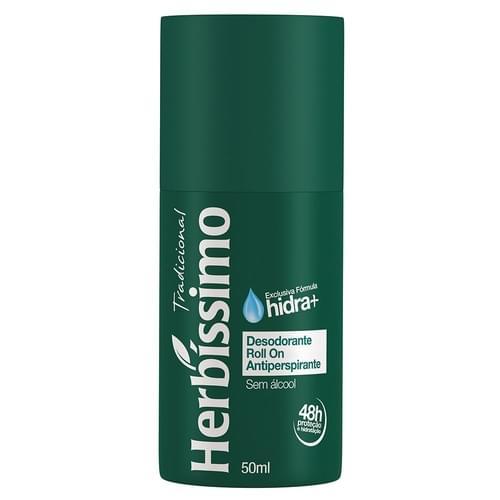 Imagem de Desodorante roll-on herbíssimo 50ml tradicional