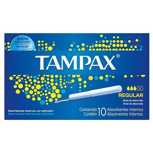 Imagem de Absorvente interno tampax c/10 regular