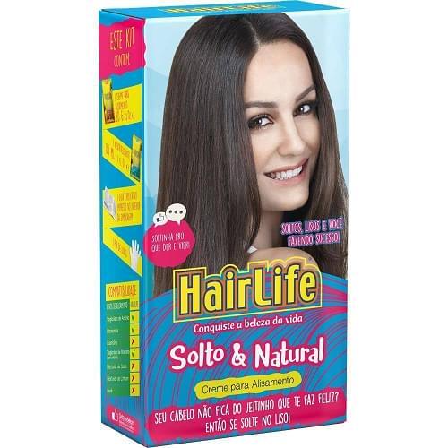 Imagem de Alisante capilar hair life 160g solto natural