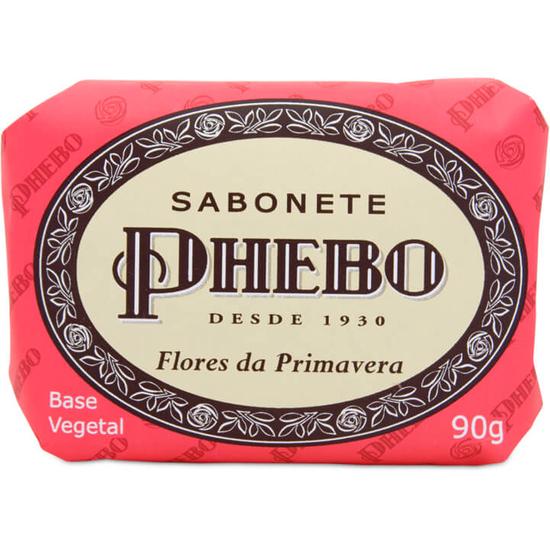 Imagem de Sabonete em barra glicerinado phebo 90g flores da primavera