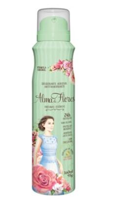 Imagem de Desodorante aerosol alma de flores 160ml classsico