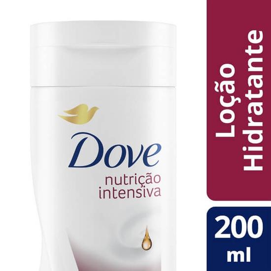 Imagem de Loção corporal hidratante dove 200ml nutricao intensiva pele extra seca