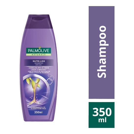 Imagem de Shampoo uso diário palmolive 350ml nutri liss