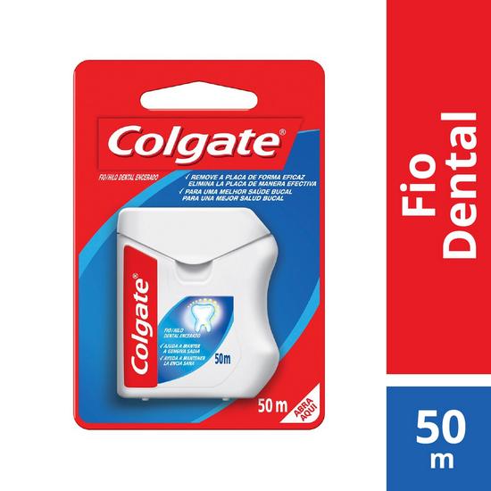 Imagem de Fio dental nylon colgate 50m