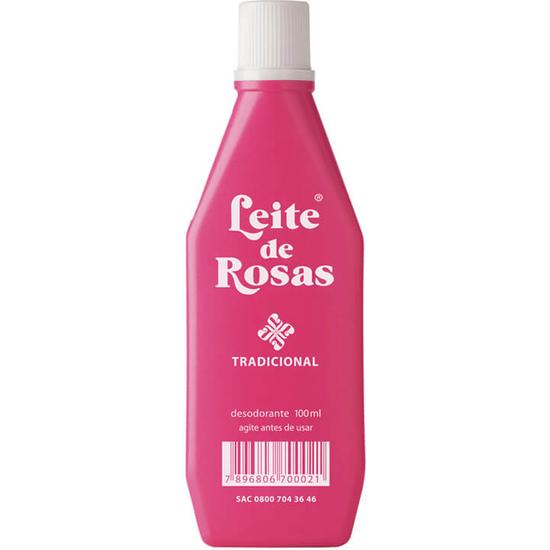 Imagem de Leite corporal limpeza leite de rosas 100ml tradicional