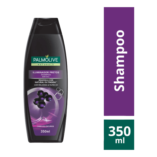 Imagem de Shampoo uso diário palmolive 350ml pretos