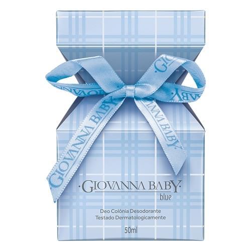 Imagem de Colônia desodorante giovanna baby 50ml azul