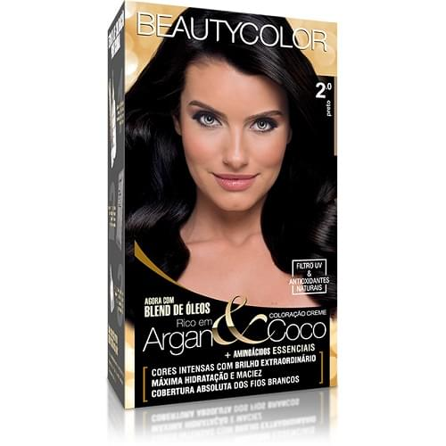 Imagem de Tintura permanente beauty color 2.0 preto