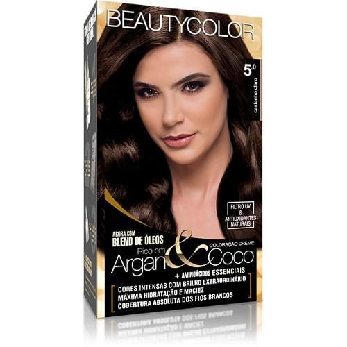 Imagem de Tintura permanente beauty color 5.0 castanho claro
