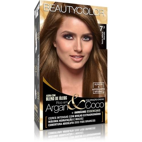 Imagem de Tintura permanente beauty color 7.3 louro dourado