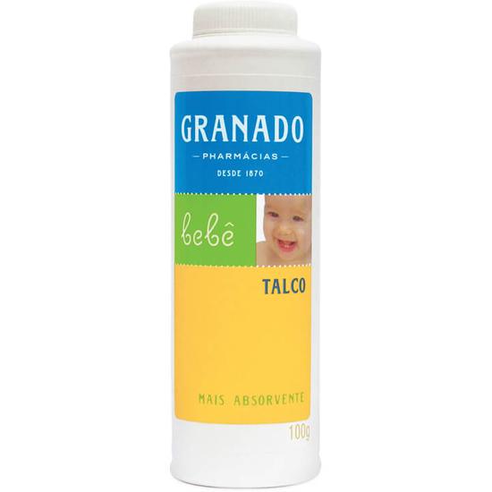 Imagem de Talco infantil granado 100g bebê