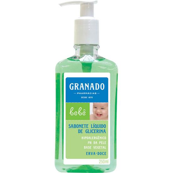 Imagem de Sabonete líquido infantil granado 250ml erva doce