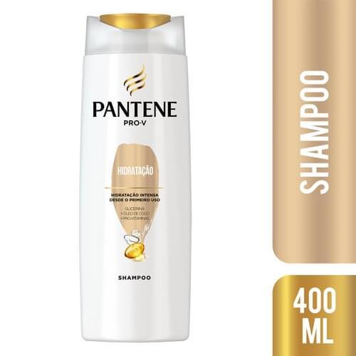 Imagem de Shampoo uso diário pantene 400ml hidratação