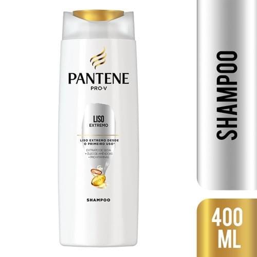 Imagem de Shampoo uso diário pantene 400ml liso extremo