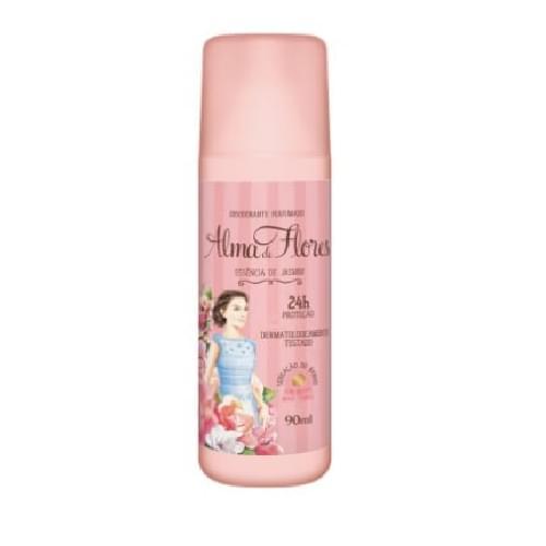 Imagem de Desodorante spray alma de flores 90ml feminino jasmim e lavanda