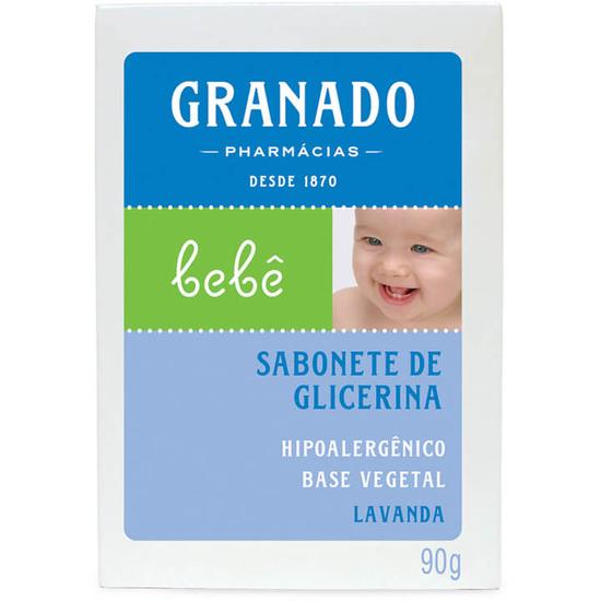Imagem de Sabonete em barra infantil granado 90g glicerinado lavanda