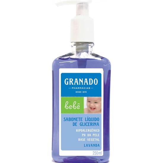 Imagem de Sabonete líquido infantil granado 250ml lavanda