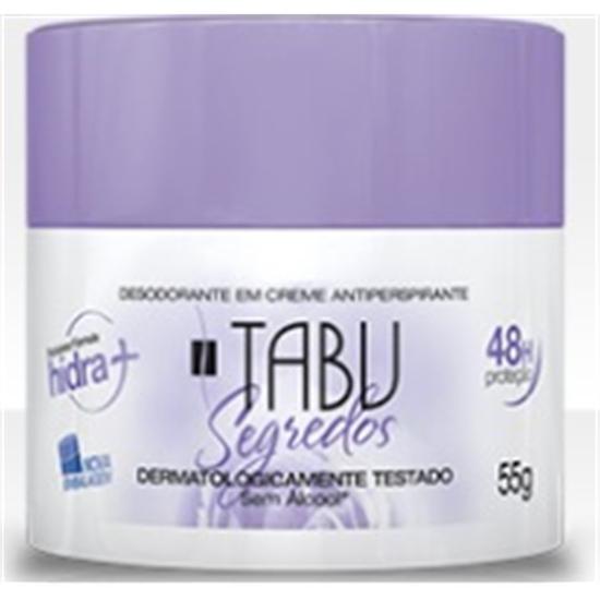 Imagem de Desodorante em creme tabu 55g segredos