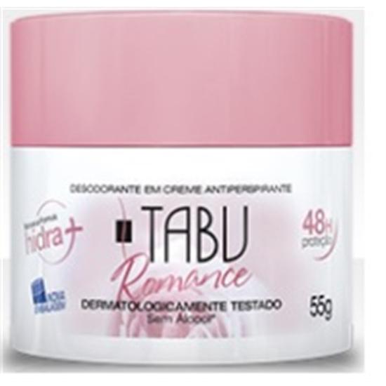 Imagem de Desodorante em creme tabu 55g romance