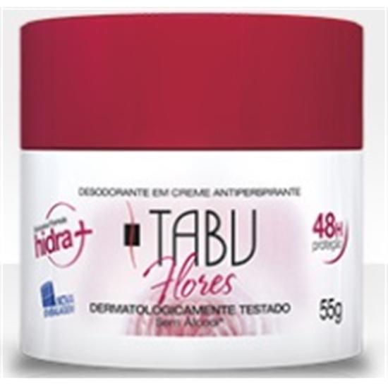 Imagem de Desodorante em creme tabu 55g flores