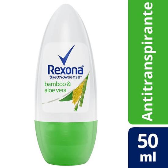 Imagem de Desodorante roll-on rexona 50ml feminino bamboo