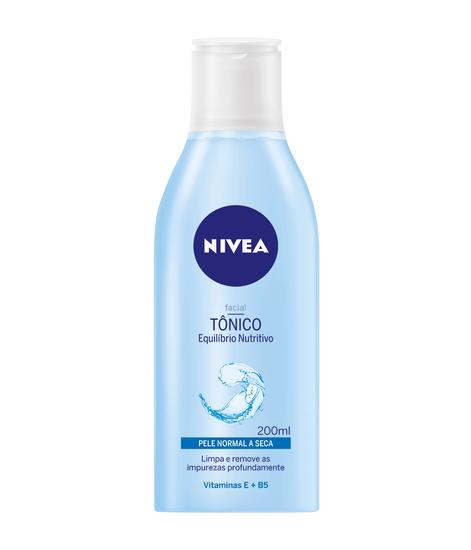 Imagem de Tônico de limpeza nivea 200ml visage pele normal azul