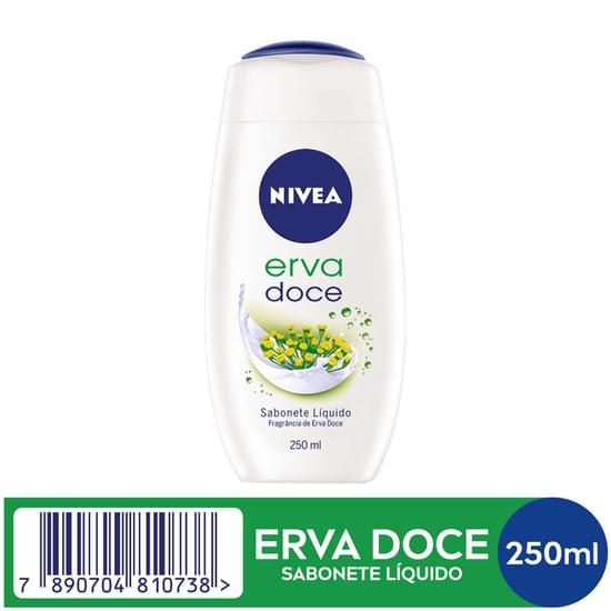 Imagem de Sabonete líquido uso diário nivea 250ml erva doce e gingko