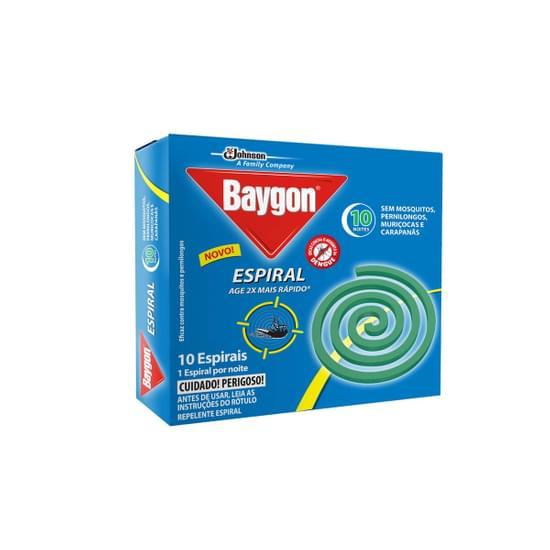 Imagem de Inseticida espiral baygon 10g c/10