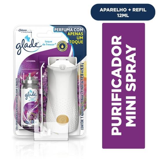 Imagem de Desodorizador de ar spray glade 12ml lavanda