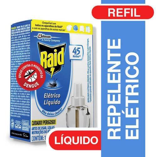 Imagem de Inseticida elétrico raid líquido refil