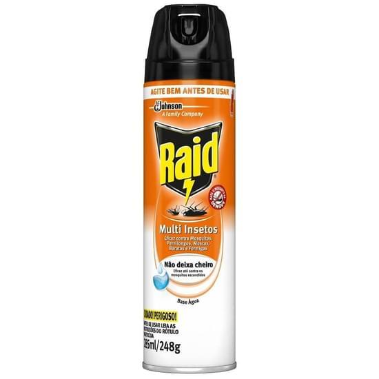Imagem de Inseticida aerosol raid 285ml multi