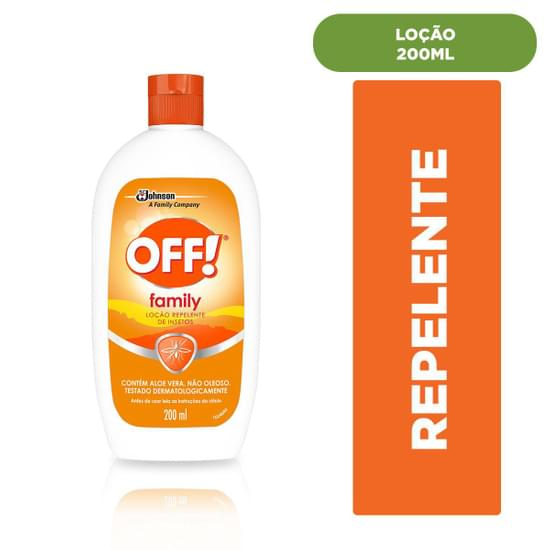 Imagem de Repelente em loção off 200ml hidratante