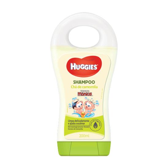 Imagem de Shampoo infantil turma da mônica 200ml camomila