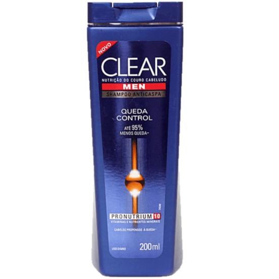 Imagem de Shampoo anti caspa clear 200ml queda control men
