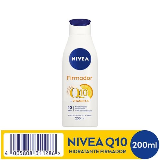 Imagem de Loção corporal hidratante nivea 200ml firmadora q10 plus