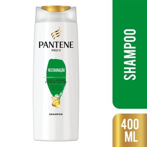 Imagem de Shampoo uso diário pantene 400ml restauração profunda