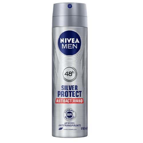 Imagem de Desodorante aerosol nivea 150ml masculino silver protect