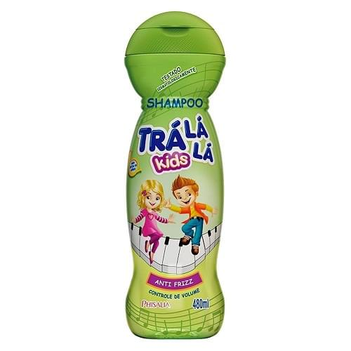 Imagem de Shampoo infantil trá lá lá 480ml anti frizz
