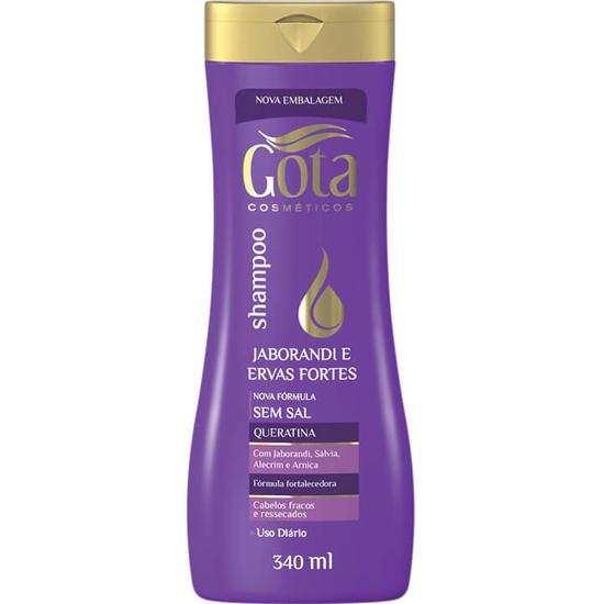 Imagem de Shampoo uso diário gota dourada 340ml jaborandi